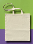 Made of washed cotton! Shopping bag, XL hd.